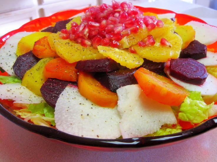 Mexican Christmas Eve Salad