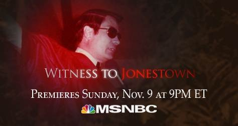 This year being the 34th anniversary of the tragedy at Jonestown, I saw this pop up on tv. Overall a great documentary with many interviews from the few survivors and those who managed to escape. Very sad stuff.