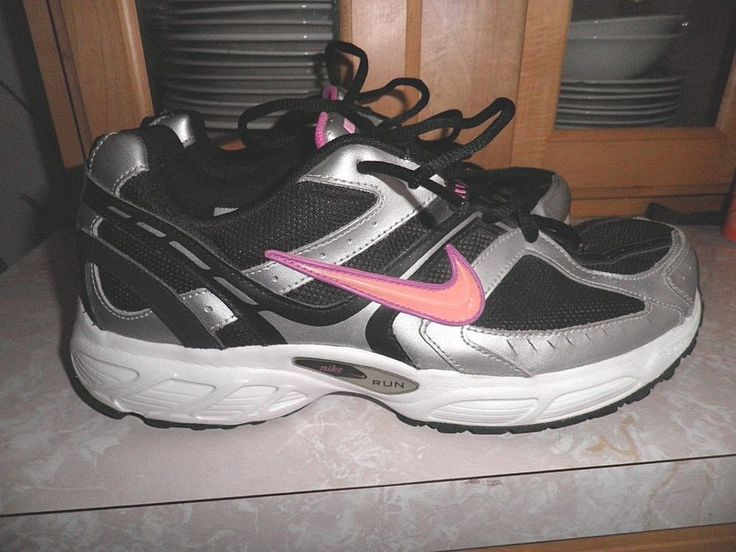 Nike Compete 2 Gray Pink White Lace Up Running Shoes Athletic Sneakers Sz 11