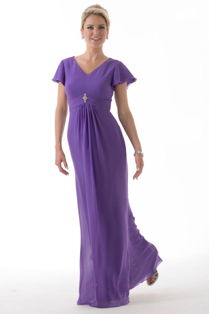 Mejores 36 imágenes de Modest Bridesmaid Dresses en Pinterest ...