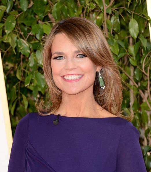 Savannah Guthrie - 70th Annual Golden Globe Awards