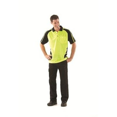 Designed Workwear Cargo Pants Min 25 - 100% Cotton, Two Front Slant Pockets, Two Back Hip Welt Pockets with Velcro Flap, Two Cargo Lower Side Pockets, 310grm Mercerised Preshrunk Drill Fabric. http://www.promosxchange.com.au/designed-workwear-cargo-pants/p-8686.html