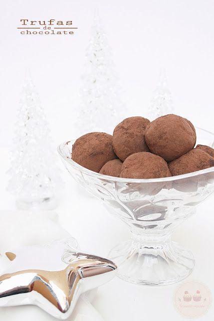 Trufas de Chocolate: fáciles y adictivas!! | Cocinar en casa es facilisimo.com