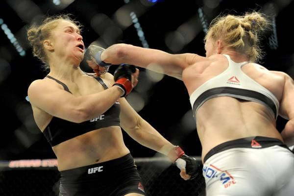 Former UFC Bantamweight champion Ronda Rousey was on the wrong end of a leg sweep, performed by an 11-year-old boy.