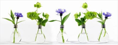 """Vase """"Ampoule électrique"""" - Achat idées décoration - LeDindon.com"""