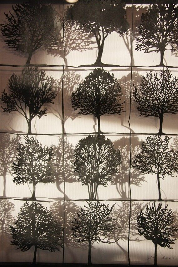 all about trees by paper cut