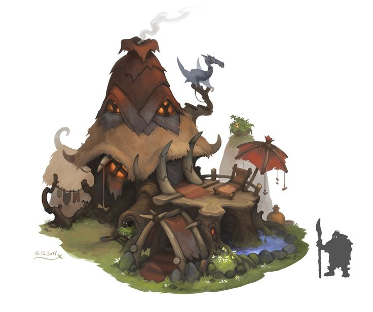 Avatar House, Stoyan Stoyanov on ArtStation at https://www.artstation.com/artwork/avatar-house