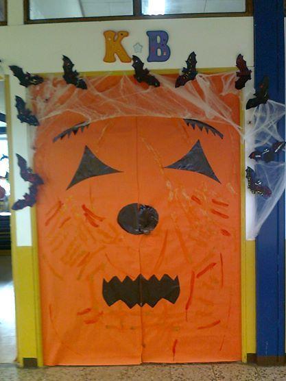 Decoración de la puerta para Halloween 2010 KB. DoorsOctober & 38 best Pizarras de Lucy Lu images on Pinterest | Names Boys and ... pezcame.com