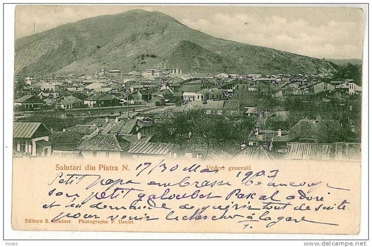 Piatra Neamt - Vedere Generala - 1903