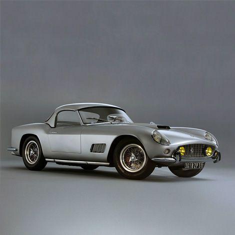 1959 Ferrari 250 GT California Spyder.  Pretty little thing.