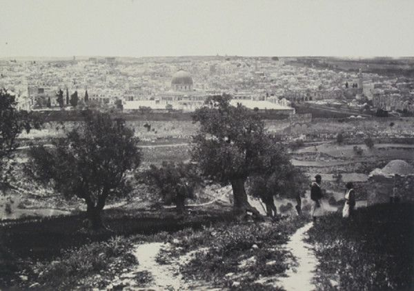 Jerusalem from The Mount of Olives, 1858-60, by Francis Frith