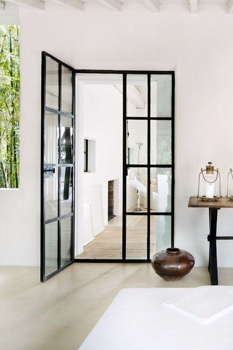 89 best Doors images on Pinterest Old buildings, Windows and - design turen glas holz moderne