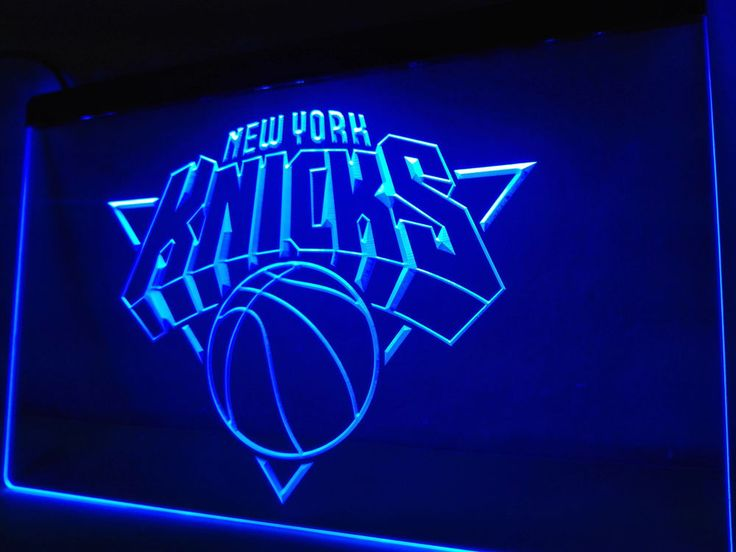 New York Knicks LED Neon Light Sign Man Cave