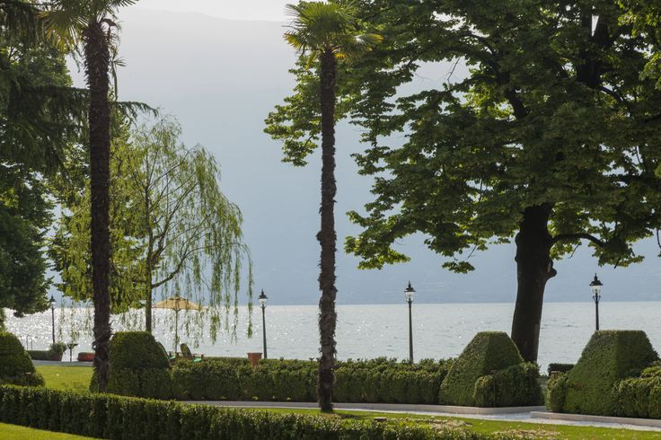 View of Lake Garda from Villa Feltrinelli. #villafeltrinelli #lake #garda #nature #peace #relax #grandhotel #italy