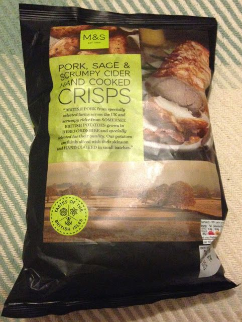 FOODSTUFF FINDS: Pork, Sage & Scrumpy Cider Crisps (Marks & Spencer's) [By @spectreUK]