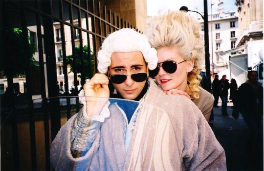 Jason Schwartzman & Kirsten Dunst @ Marie Antoinette