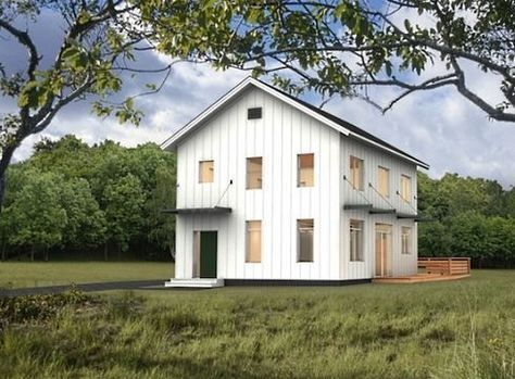 20x30 barn house 2 1/2 story | More Barn Style House Plans for Today