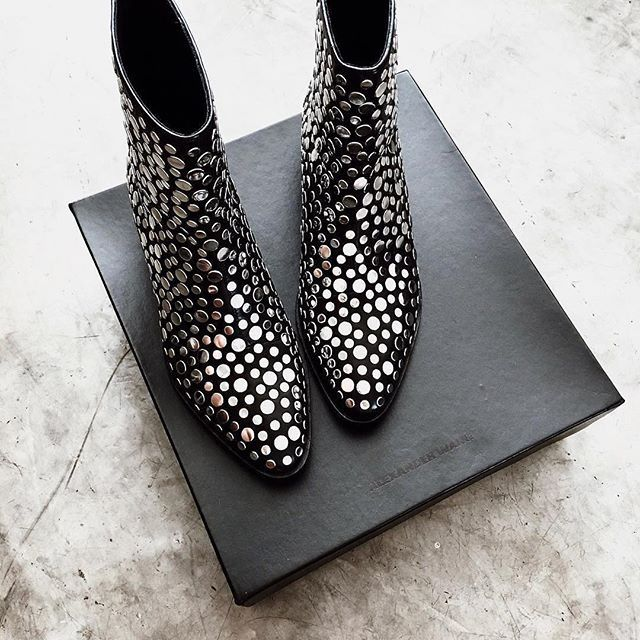 Need these studded boots now.