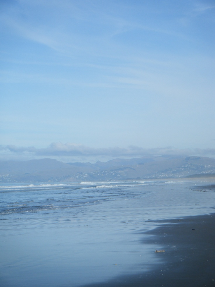 Spencerville - Christchurch   (This beach stretchs up and down the east coast of Canterbury)