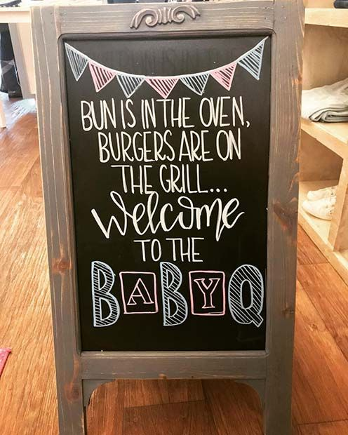23 Adorable Gender Reveal Party-Ideen  – Baby M- Fall 2019