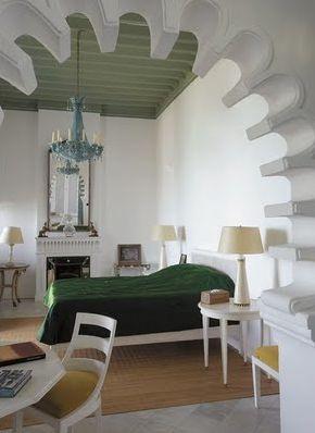 YSL's Tangier Morocco bedroom