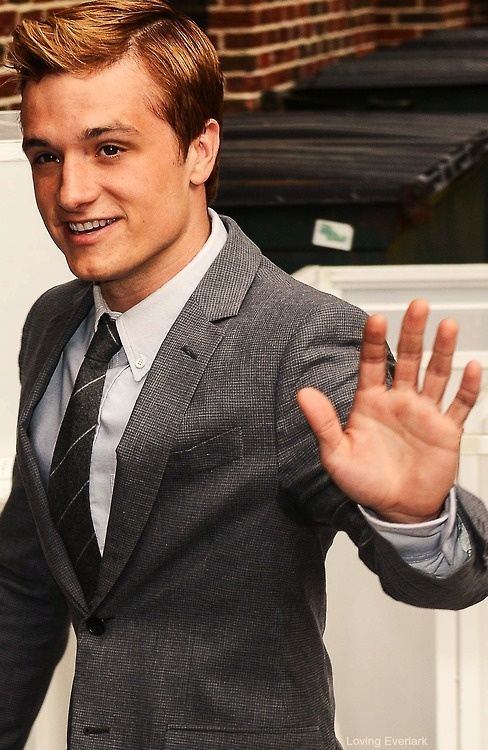 Josh Hutcherson! I actually don't normally fancy him but this pic is pretty cute! :)