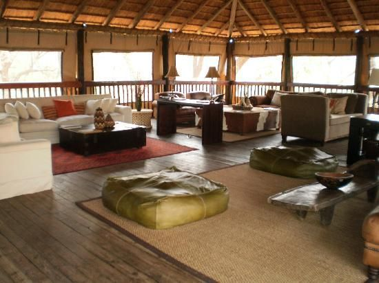 Relax in the lounge area at Chisomo