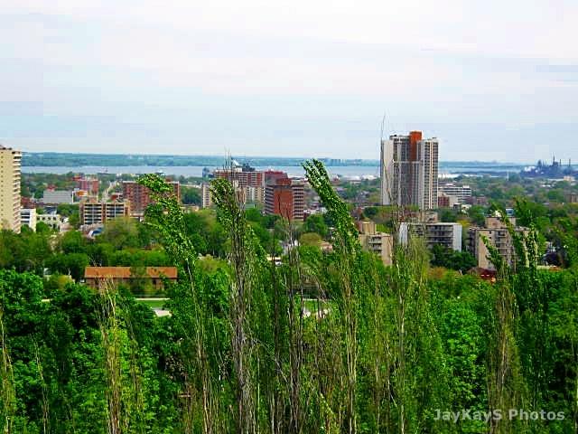Hamilton, Ontario. View from the mountain.