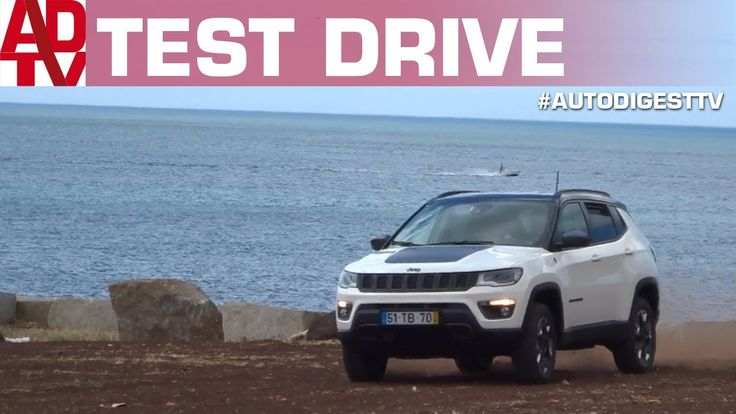 TEST DRIVE JEEP COMPASS TRAILHAWK 4x4 2.0 Mjet 170 CV