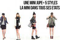 Leçon de mode: 5 façons de porter la mini-jupe