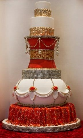 Other / Mixed Shaped Wedding Cakes -
