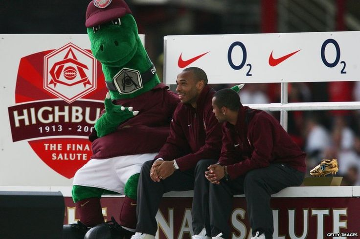 Thierry Henry, Ca$hley Cole, Gunnersaurus
