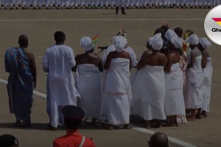 Traditional Authorities Offer Prayers At Independence Day Parade