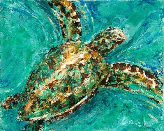 21 best images about earth on pinterest environmental for Sea life paintings artists