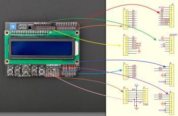 LCD KeyPad Shield For Arduino SKU: DFR0009 - Robot Wiki