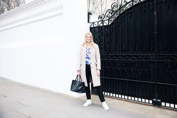 MadeleineA: Blå, Beige och svart