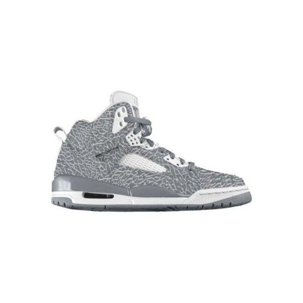 Nike Jordan Spiz\u0027ike iD Custom Women\u0027s Basketball Shoes \u2013 White, 8