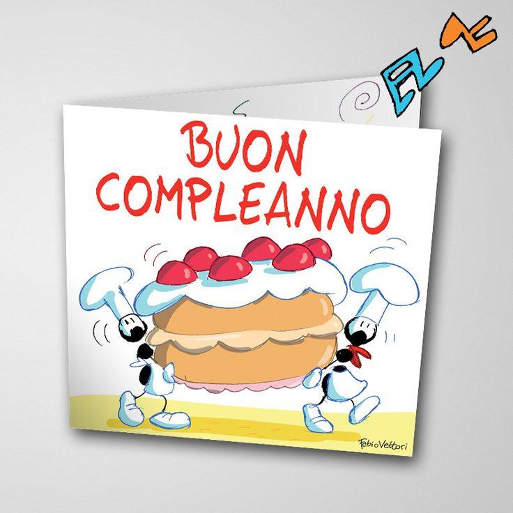Biglietto musicale Compleanno (FV07-06) | Le Formiche di Fabio Vettori #formiche #fabiovettori #biglietto #auguri #musica #music #fun #regalo #gift #compleanno #torta #happybirthday