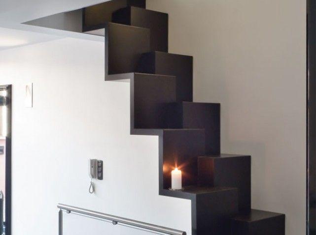 Escalier a pas alternes