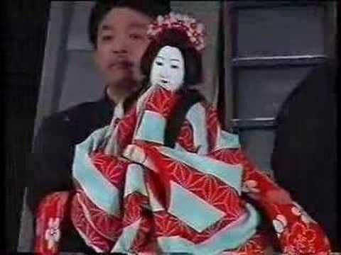 ▶ Japanese Bunraku puppets - YouTube