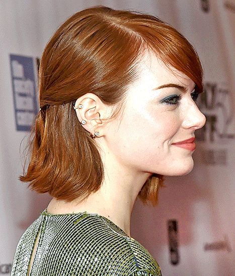 Emma Stone's Bob Hairstyle and Accessory: How to Copy the Look - Us Weekly