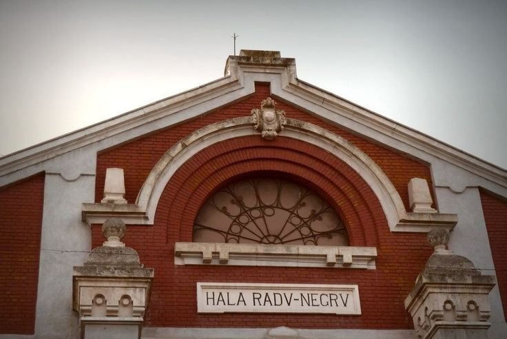 Hala Radu Negru (1904) - detaliu, Piața Decebal 1, Drobeta Turnu Severin