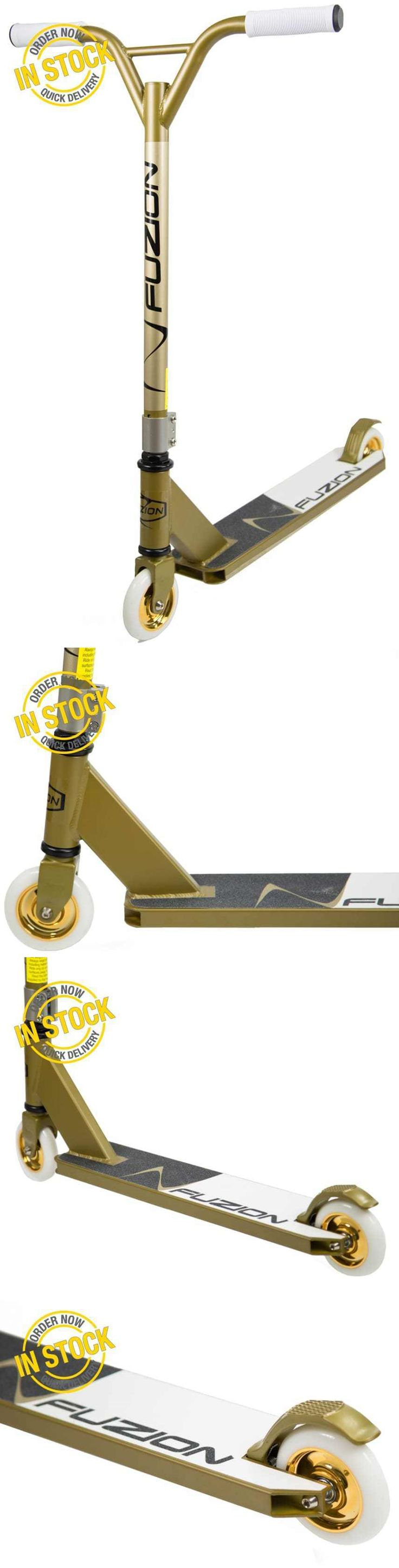 Kick Scooters 11331: Fuzion X-3 Pro Scooter (Gold) Outdoor Kick Scooter Tricks Lightweight Aluminum -> BUY IT NOW ONLY: $110.42 on eBay!