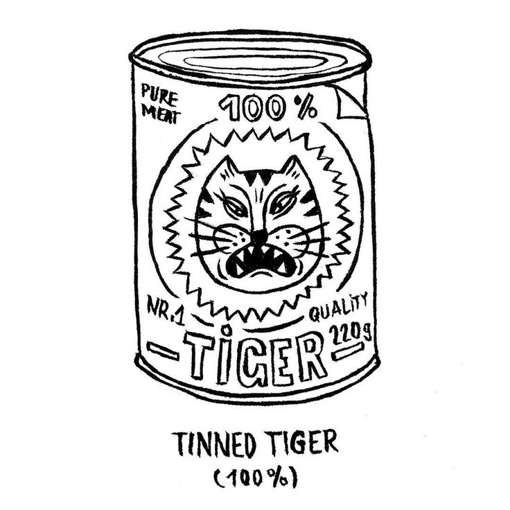 DAY 20 of my online advent calendar: Tinned Tiger.