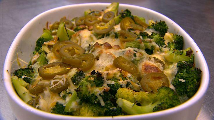 Chili cheddar broccoli