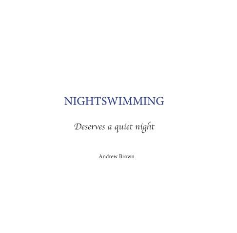 A collection of Polaroid images inspired by the song 'Nightswimming', with lyrics by R.E.M