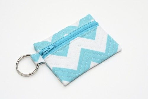 Simple tutorial for a key chain pouch