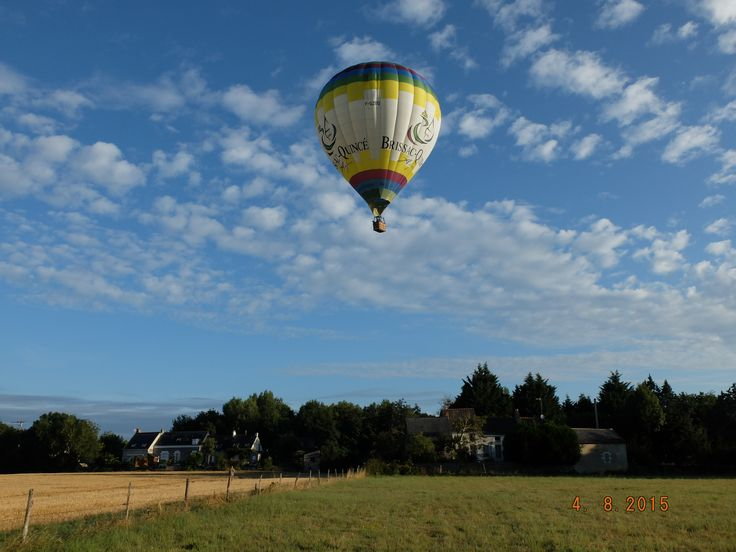 Montgolfière à Brissac - Photo MNC