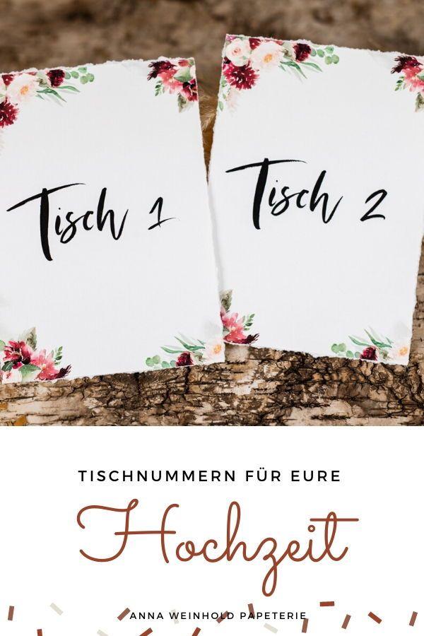 Ab 180 Euro Tischnummern Fur Die Tische Hochzeitstisch Auf Etsy Hochzeitstisch Hochzeit Platzkarten Hochzeit