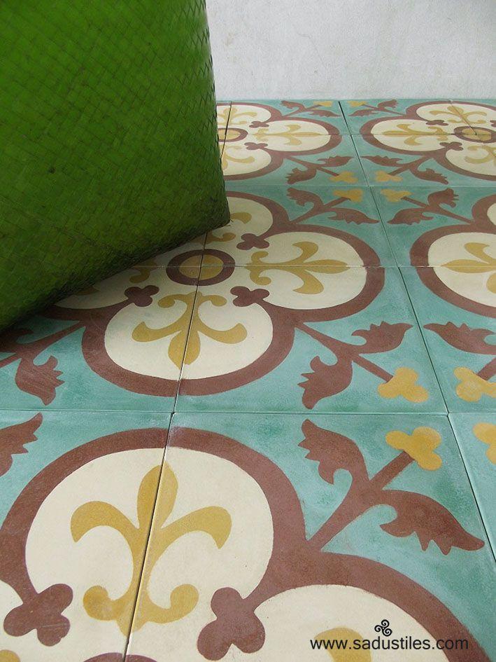1000 Images About Cement Tegels On Pinterest Terrace